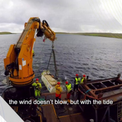Embedded thumbnail for D2T2 – Direct Drive Tidal Turbine